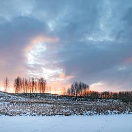 Alberta winter dawn by Karen Rispin
