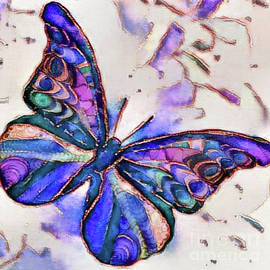 Alcohol Ink Butterfly