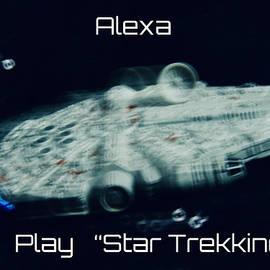 Alexa Play Star Trekking  by Neil R Finlay