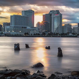 Algiers Point Sunset by Chase This Light Photography