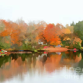 Algonquin Autumn by Diana Rajala