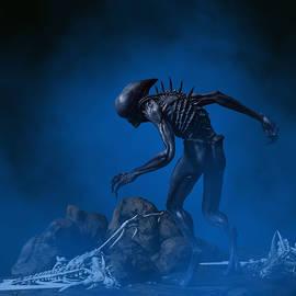 Alien Planet 1 by Barroa Artworks
