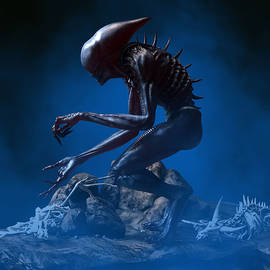 Alien Planet 4 by Barroa Artworks