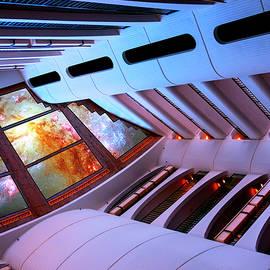 ALIEN SPACESHIP River City  by William Dey