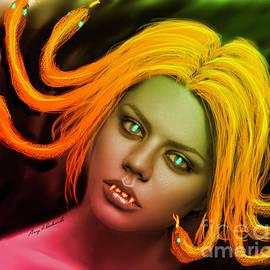 Alien Vampire Medusa 2 by Gary F Richards