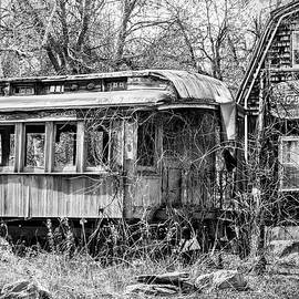 All Aboard - Abandoned Train by Betty Denise