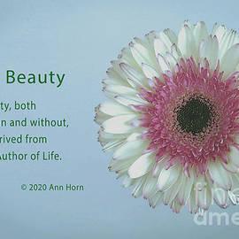 All Beauty by Ann Horn
