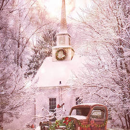 All is Calm on a Country Christmas Eve by Debra and Dave Vanderlaan