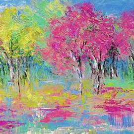 All Those Blooming Trees by Amalia Suruceanu