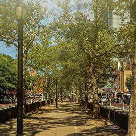 Alley In New York City Manhattan Downtown 220 by Vlad Meytin