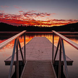 Almanor Dawn by Micheal Lee