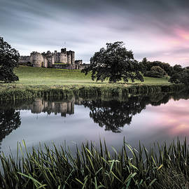 Alnwick Castle Sunset by Dave Bowman