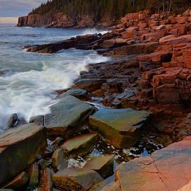 Along The Acadia Coast by Stephen Vecchiotti