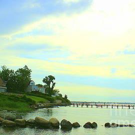 Along the Bay in Early Summer by Dora Sofia Caputo