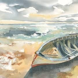 Along the Beach by Hiroko Stumpf