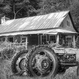 Along the Country Roads Black and White   by Debra and Dave Vanderlaan