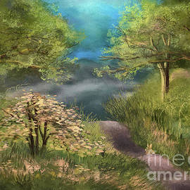 Along The Mountain Trail by Lois Bryan