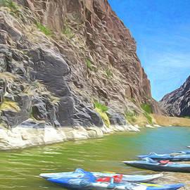Along The Rio Grande by Jim Cook