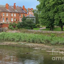 Alongside the River Dee, Chester, England by Elaine Teague