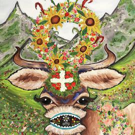 Alpine Cow  by Aren Dummer