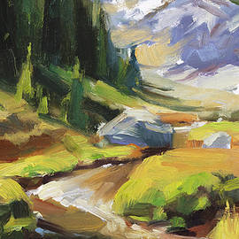 Alpine Stream by Steve Henderson