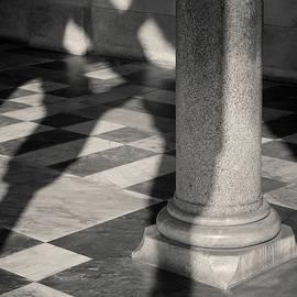 Amalfi Cathedral Shadows by Dave Bowman