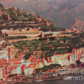 Amalfi Coast by Nehemiah Art
