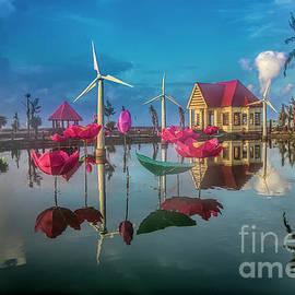 Amazing Resort Vietnam  by Chuck Kuhn