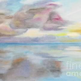 Amazing SUNSET oil painting by Svetlana Shavrina
