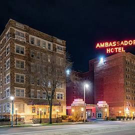 Ambassador Hotel at Night by Randy Scherkenbach