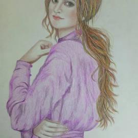Amelia the Girl in Purple by Akshat Goyal