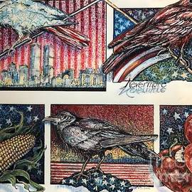 America _Where are you? by Susan Brown    Slizys art signature name