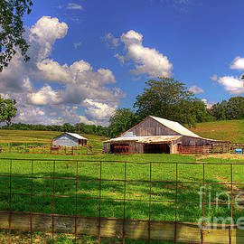 American Barnyard Scott County Missouri  by Larry Braun