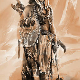 American Indian 0022 by Gull G