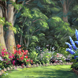 America's Garden, the Red,White and Blue by Rick Hansen