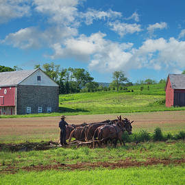 Amish Farm, Lancaster County Pennsylvania 2012 by Michael Chiabaudo