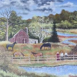 Amish Horses by Brian Mickey