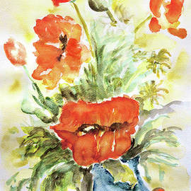 Among The Poppies by Jasna Dragun