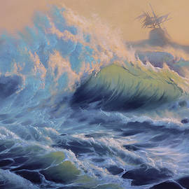 Among the waves  by A Prints