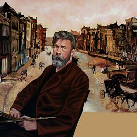 Amsterdam by Breitner Painting by Paul Meijering