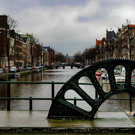 Amsterdam Canal Drawbridge by Norma Brandsberg