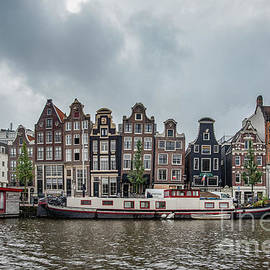 Amsterdam-crooked Houses by Judy Wolinsky