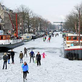 Amsterdam winter delight by Juergen Hess