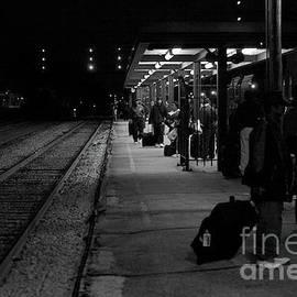 Amtrack Train Station by Frank J Casella
