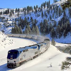 Amtrak 6 by Donna Kennedy