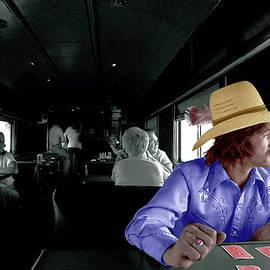 AmTrak  Cowboy by R C Fulwiler