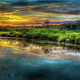 An Adirondack Sunset by David Patterson