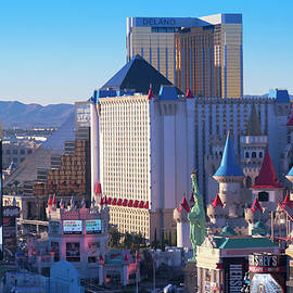 An Aerial View of the Las Vegas Strip Looking South, NV, USA by Derrick Neill