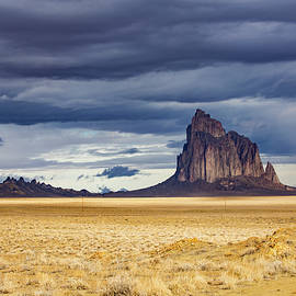 An Afternoon At Shiprock by Cathy Franklin