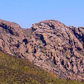 An Arizona Landmark Known as Cochise's Head, USA by Derrick Neill